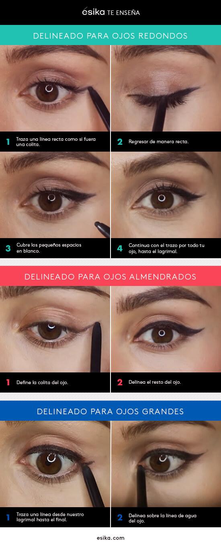 Delineado por tipos de ojos